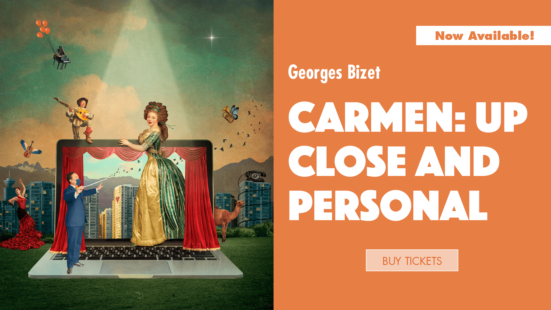 Carmen: Up Close and Personal, available now!